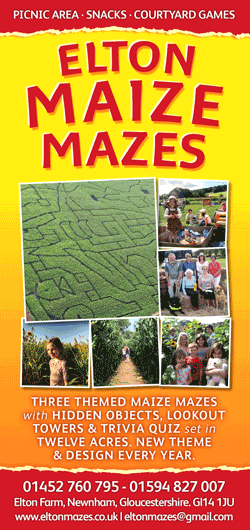 Elton Mazes - our leaflet