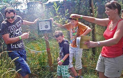 An activity in the Adventure Maze