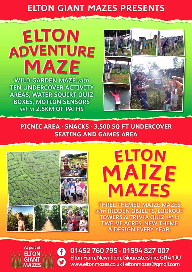 Elton Mazes - our poster