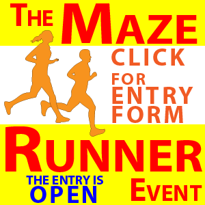 The Maze Runner event  based around Elton Mazes