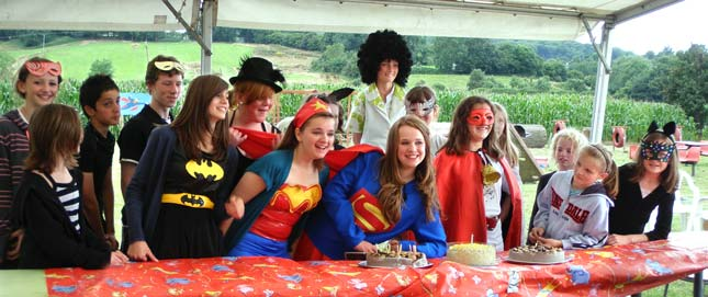 Superheroes Birthday Bash