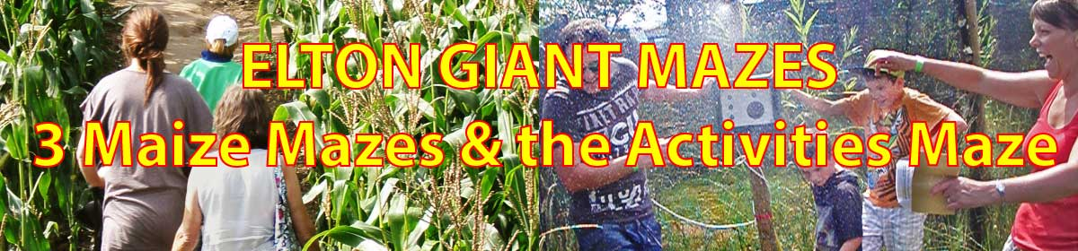 Elton Giant Mazes and Activities Maze